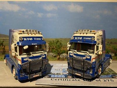 WSI WSI Volvo Globetrotter set 2 stuks KVG