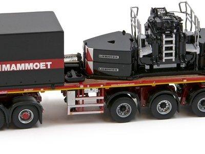 Mammoet store IMC Mercedes Arocs 6x4 met ballasttrailer + Ballast set 1350 Mammoet