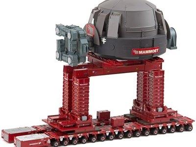 Mammoet store IMC SPMT converter exchange project Mammoet