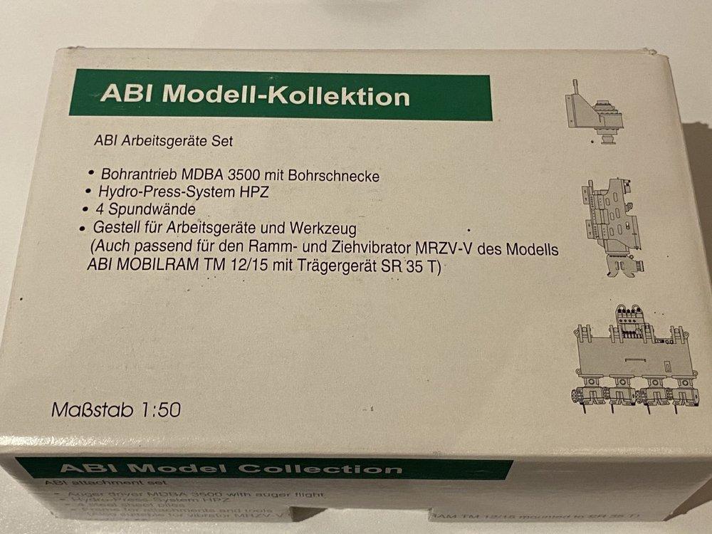 Conrad Modelle Conrad ABI attachment set for drilling / pile driving