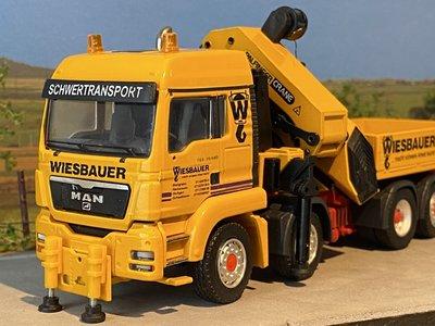 Conrad Modelle Conrad MAN TGS 8x2-6 Palfinger PK100002 Wiesbauer