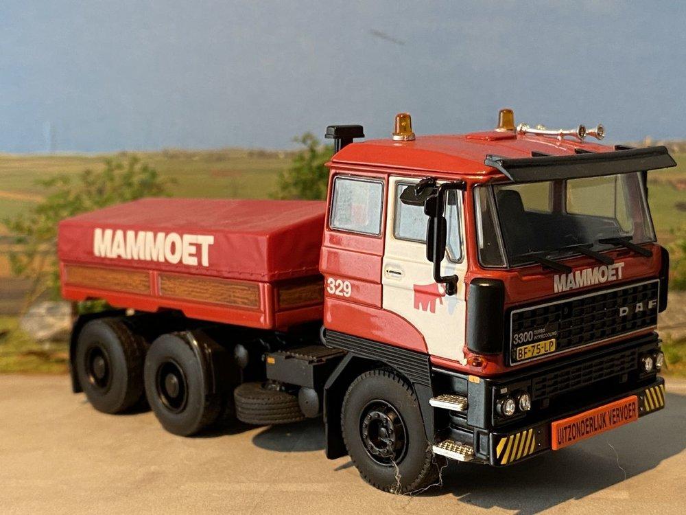 Mammoet store WSI DAF 3300 set (2 stuks) + Ballast box Mammoet