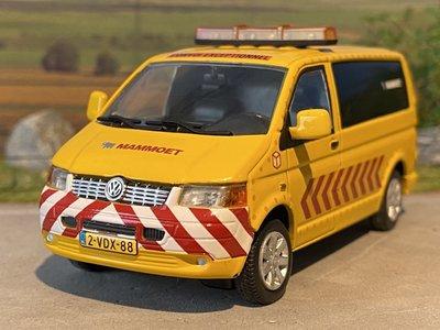 Mammoet store WSI VW Transporter Escort van Mammoet
