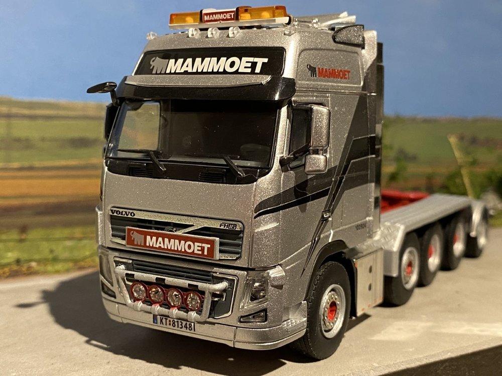 Mammoet store WSI Volvo FH3 Globetrotter 8x4 + Tag axle Mammoet Norway