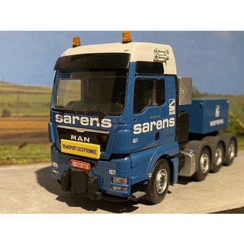 Sarens store WSI MAN TGX XXL 8x4 with ballast box Sarens