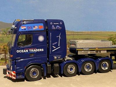 Tonkin Tonkin Mercedes Arocs 8x4 met Nooteboom MCOPX 2+6 axle Ocean Traders