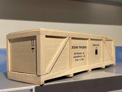 WSI WSI Wooden box length 18,5cm Ocean Traders