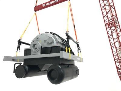 Mammoet store IMC Generator load set Mammoet