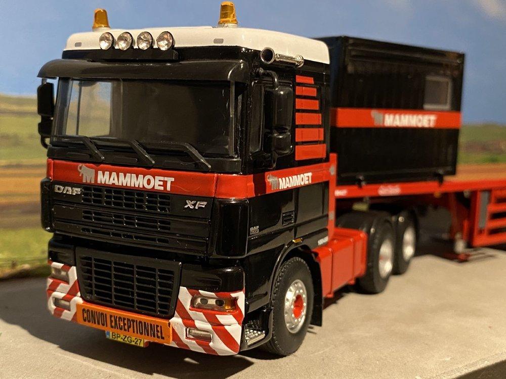 Mammoet store WSI DAF 95XF 6x4 + Nooteboom ballasttrailer 6-axle Mammoet