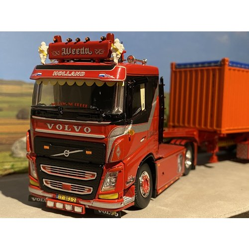 "Tekno Tekno Volvo FH04 met open top 20ft. container Weeda ""Miami Vice"""