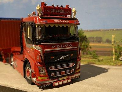 "Tekno Tekno Volvo FH04 met open top 20ft. container Weeda ""Miami Vice"""