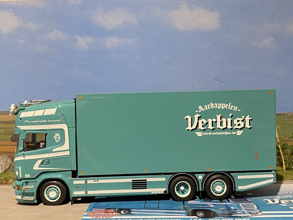 Tekno Tekno Scania R500 motorwagen Verbist