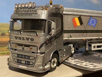 WSI WSI Volvo FH4 Glob. 4x2 met volume tipper trailer Becatrans EXCLUSIVE