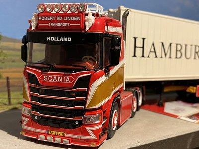 Tekno Tekno Scania Next Gen R met reefer container Robert van der Linden