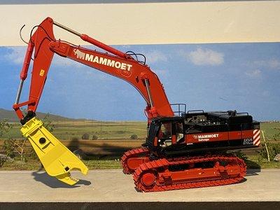 Mammoet store WSI Hitachi ZX870 demolition crane Mammoet