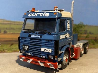Sarens store IMC Scania 143rd 6x2 single truck Sarens Curtis