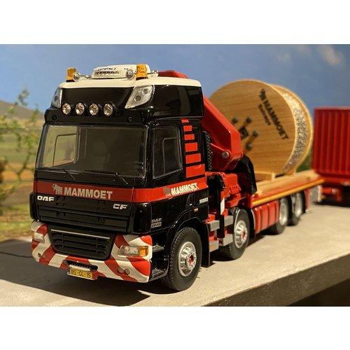Mammoet store Tekno DAF CF motorwagen + aanhanger + lading Mammoet