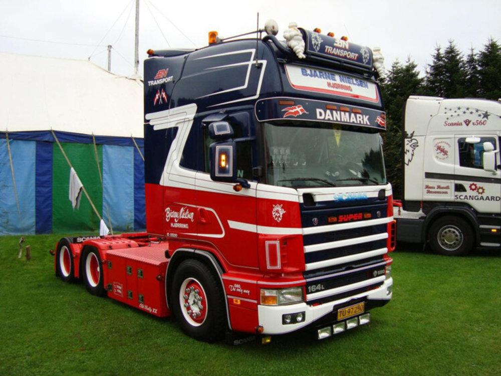 WSI WSI Scania 164L Topline 6x2 Bjarne Nielsen