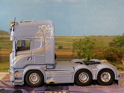 Tekno Tekno Scania R730 6x2 Topline DMT transport