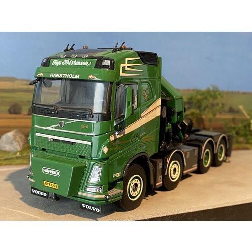 WSI WSI Volvo FH04 globetrotter 8x4 + palfinger Tage Kristensen