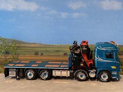 WSI WSI Scania R Highline 8x2 + Palfinger BA Perssons Kranbilar