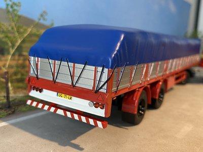 Tekno Tekno Scania 1-serie met klassieke oplegger + lading Simon Loos