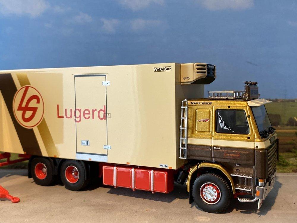 Tekno Tekno Scania 143H Motorwagen met aanhanger Luc Tierens