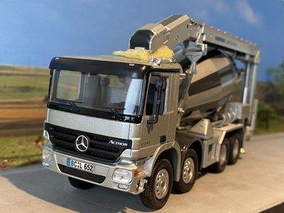NZG NZG Mercedes Actros 4-axle HTM 804 LTB betonmixer