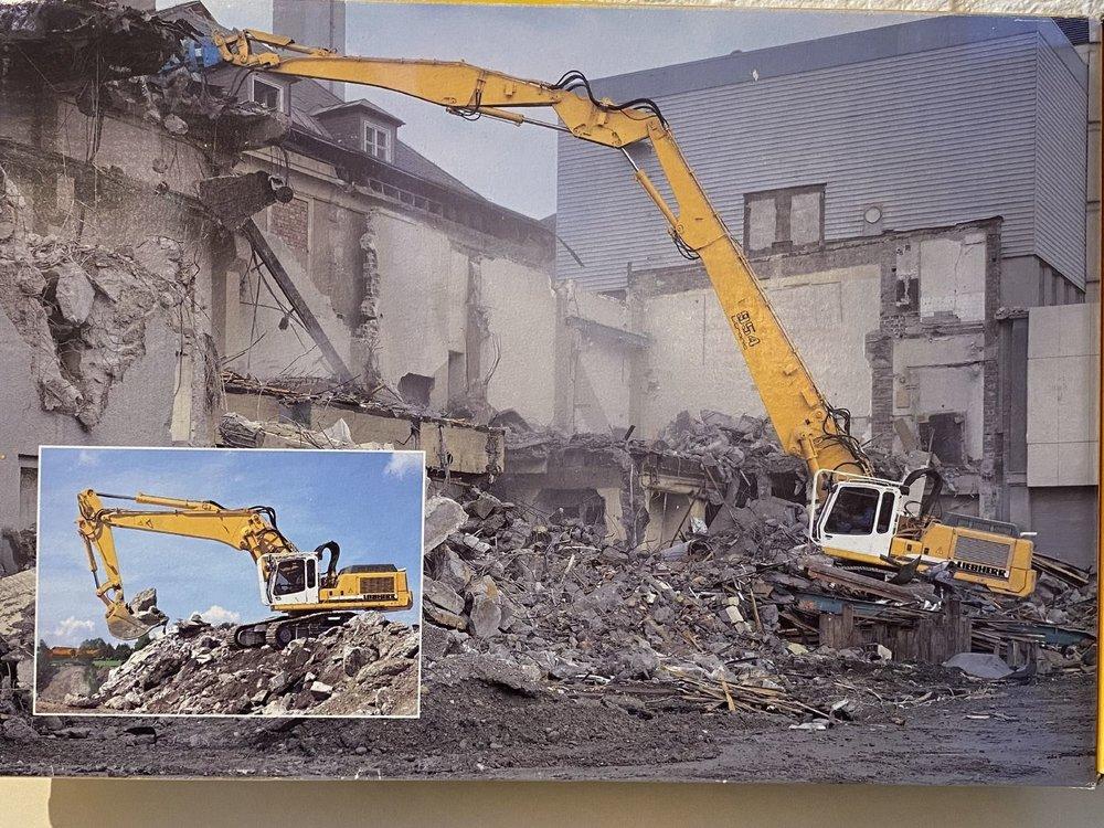 Conrad Modelle Conrad Liebherr R954 BV Litronic Demolition excavator