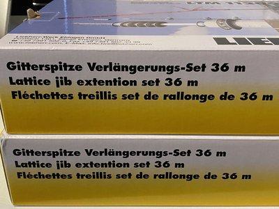 Mammoet store NZG Liebherr LTM 11200-9.1 Jib extension set 36