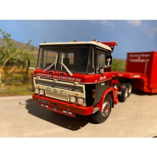 Mammoet store WSI DAF2600 + lowloader + container Mammoet van Seumeren