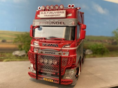 WSI WSI Scania S Highline 6x2 single truck R.S.T. Rijvers