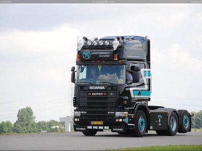 WSI WSI Scania R4 Topline 6x2 Anton Timmerman