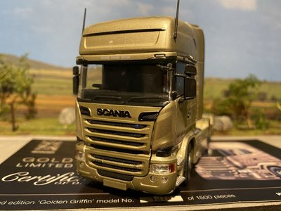 Tekno Tekno Scania R streamline topline single truck Golden Griffin UK
