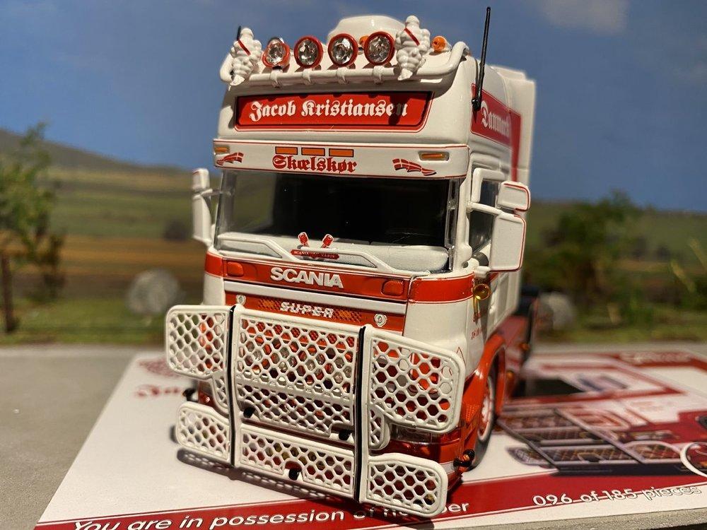 Tekno Tekno Scania R Topline 6x2 single truck Jacob Kristiansen