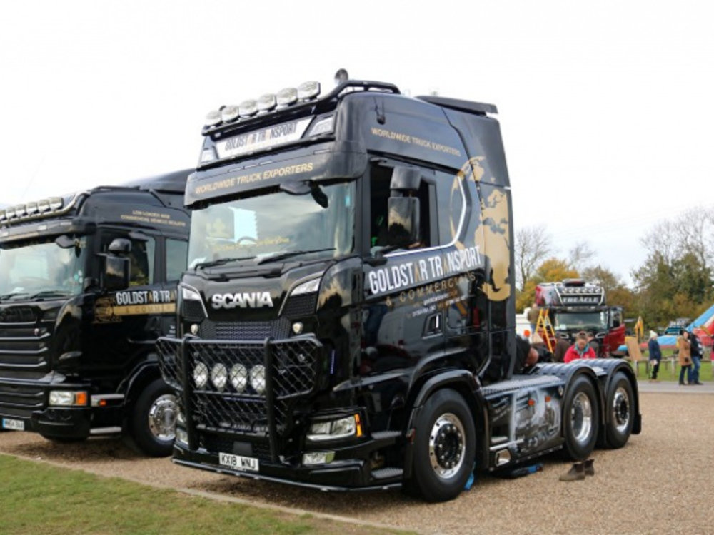 Tekno Tekno Scania Next Gen S-serie Highline 6x2 Goldstar