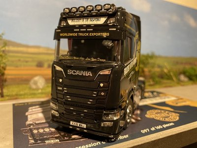 Tekno Tekno Scania Next Gen S-serie Highline 6x2 Goldstar
