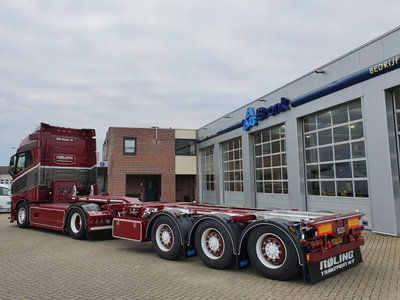 WSI WSI DAF 106XF SSC container trailer Roling