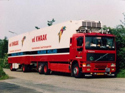 WSI WSI Volvo F12 koel combi van der Kwaak
