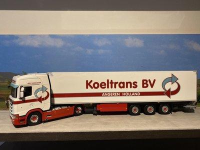 WSI WSI Scania S Highline 4x2 met koeloplegger Koeltrans