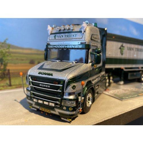 WSI WSI Scania T580 6x2 Topline met volume kipper van Triest