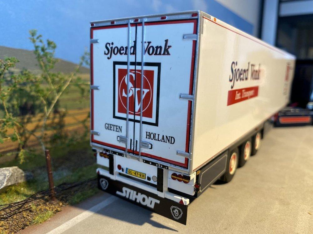 WSI WSI Scania R620 Topline met koeloplegger Sjoerd Vonk