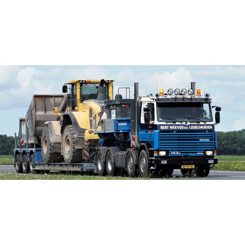 WSI WSI Scania 3 series 8x4 low loader - 3 axle Weever