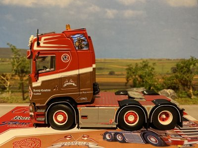 Tekno Tekno Scania Next Gen S-serie Highline 6x2 Ronny Ceusters