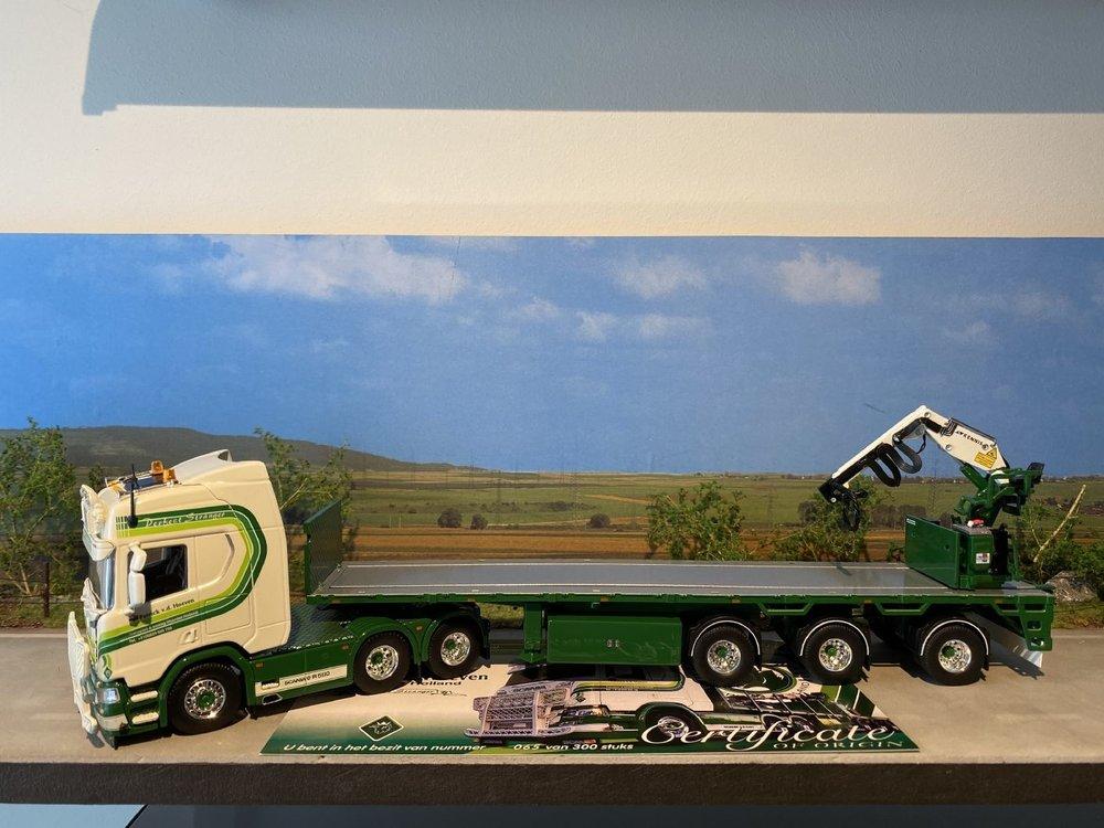 Tekno Tekno Scania Next Gen Highline met stenenoplegger Patrick van de Hoeven