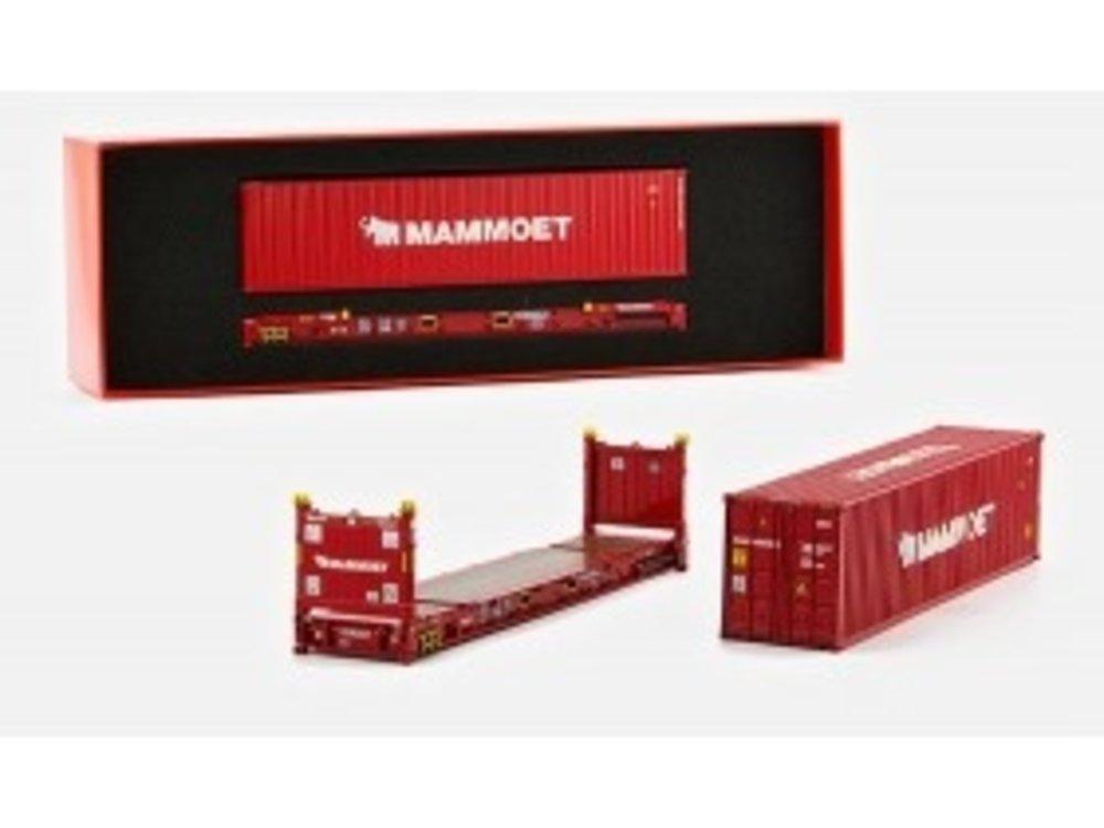 Mammoet store Tonkin Container set 40ft. + flatrack Mammoet