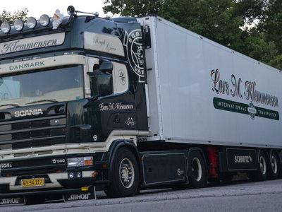 WSI WSI Scania R4 Topline 4x2 reefer trailer - 3 axle Lars Klemmensen