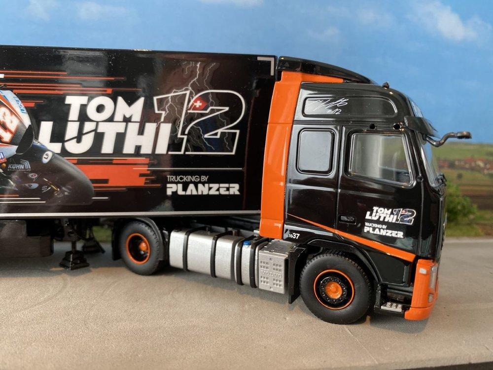 Tekno Tekno Volvo FH03 Globetrotter met 3-assige koeloplegger Planzer
