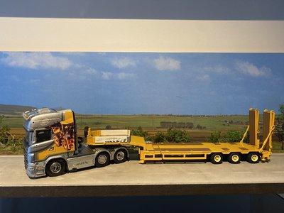IMC Tekno Scania R Topline met semi dieplader Krommenhoek