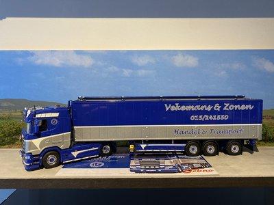 Tekno Tekno Scania S Highline met 3-assige cargofloor Vekemans